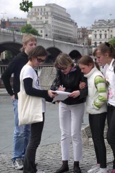 Il PEN club inglese raccoglie firme per i perseguitati bielorussi (fonte Flickr: utente englishpen)