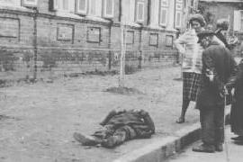 Holodomor. La gente moriva per strada (fonte Wikicommons, foto di pubblico dominio)