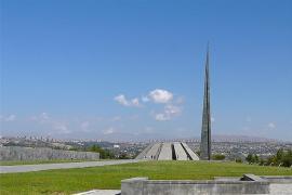 Il memoriale di Yerevan (Foto di Rita Willaert)