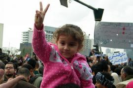 Proteste in Egitto (Foto di Ryan McGovern)
