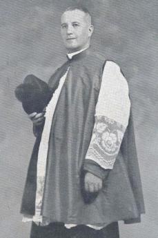 Oddo Stocco dopo la nomina a monsignore