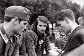 Hans Scholl, Sophie Scholl e Christoph Probst