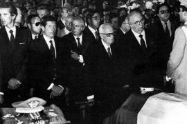 Sandro Pertini ai funerali di Carlo Alberto Dalla Chiesa