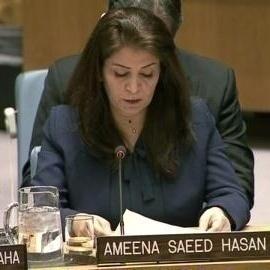 Ameena Saeed Hasan