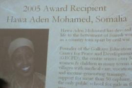 Hawa Aden Mohamed , foto di Steve Rhodes