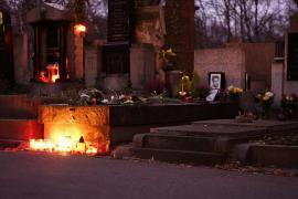 La tomba di Jan Palach (Foto di Joffley)