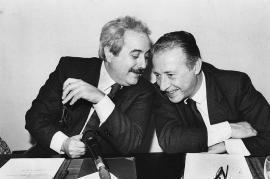 I giudici Falcone e Borsellino (Foto di Tony Gentile)