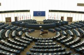 Strasburgo, l'aula del Parlamento Europeo (da Wikicommons)