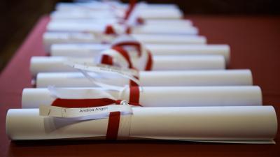Cerimonia di consegna delle pergamene per i Giusti onorati nel Giardino Virtuale