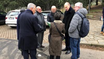 L'Ambasciatore d'Israele in Italia in visita al Giardino dei Giusti di Milano