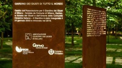 Giardino dei Giusti di tutto il mondo di Milano