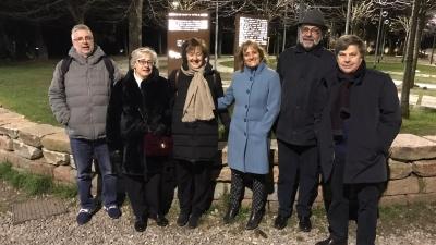 Il viaggio della memoria parte dal Giardino dei Giusti di Milano