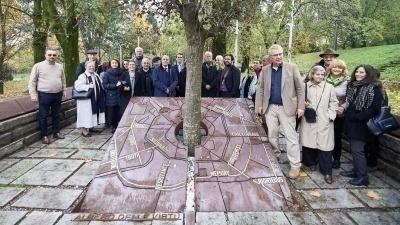 Visita internazionale al Giardino dei Giusti di Milano