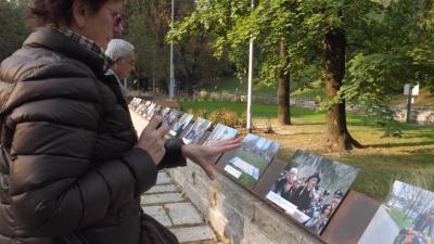 Inaugurazione del Giardino dei Giusti di Milano