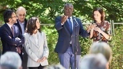Denis Mukwege al Giardino di Milano
