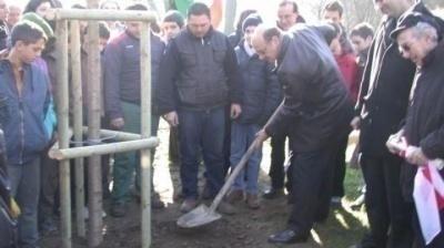 Inaugurazione Giardino dei Giusti di tutto il mondo