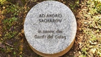 Un albero per Sacharov al Giardino dei Giusti di Milano