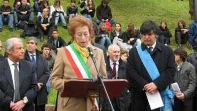 Cerimonia al Giardino dei Giusti di Milano 2010