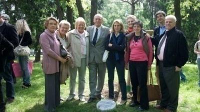 Cerimonia al Giardino dei Giusti di Milano 2009