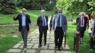 Visita del Prefetto di Milano al Giardino dei Giusti
