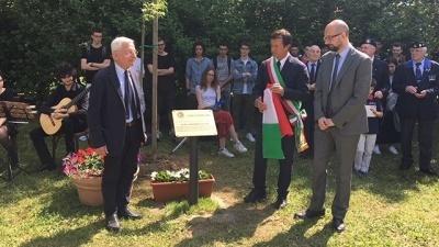 Nuovi Giusti al Giardino di Bergamo