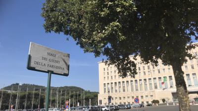 """Intitolazione del """"Viale dei Giusti della Farnesina"""" a Roma"""