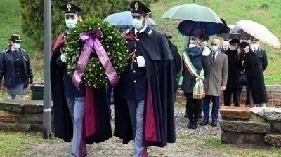 Cerimonia in onore di Giovanni Palatucci al Giardino dei Giusti di Milano