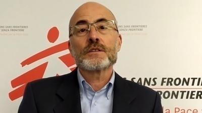 Il messaggio di Gabriele Eminente,  Direttore Generale di Medici Senza Frontiere Italia
