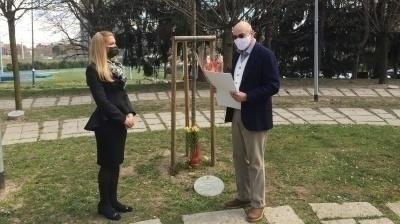 La benemerenza dal Ministero degli Affari Esteri della Repubblica di Bulgaria a Gabriele Nissim