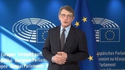 Il messaggio del Presidente del Parlamento europeo David Sassoli