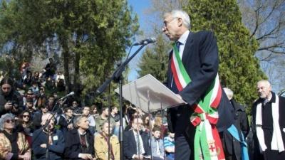 Cerimonia al Giardino dei Giusti di Milano 2014