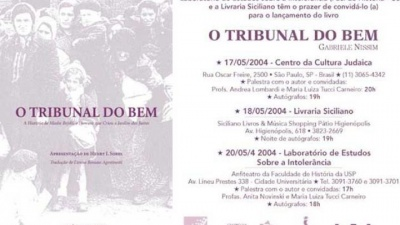 "Presentazione  ""Il Tribunale del Bene"" in Brasile"