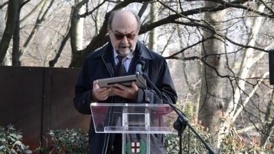 Il vicepresidente UCEI Giorgio Mortara al Giardino di Milano
