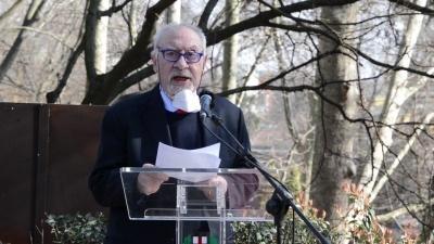 Il Console onorario della Repubblica d'Armenia in Italia Pietro Kuciukian al Giardino di Milano