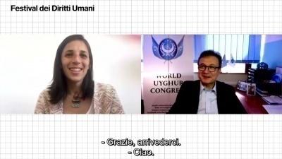 Intervista a Dolkun Isa, leader uiguro, al Festival dei Diritti Umani