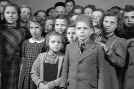 Bambini tedeschi nel 1938 (fonte Wikicommons, utente Deutsche Fotothek)