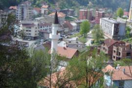Panorama di Srebrenica (foto di Dans-eng)