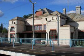 La stazione di Levashovo (foto di A. Savin)