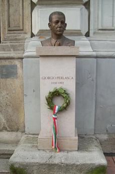 Busto dedicato a Giorgio Perlasca a Budapest