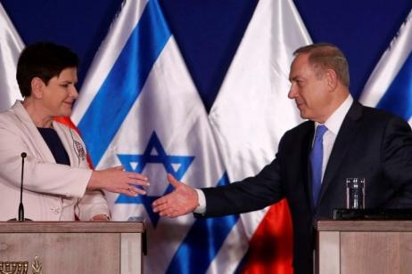 """""""Israele adotta la narrazione polacca sull'Olocausto"""""""
