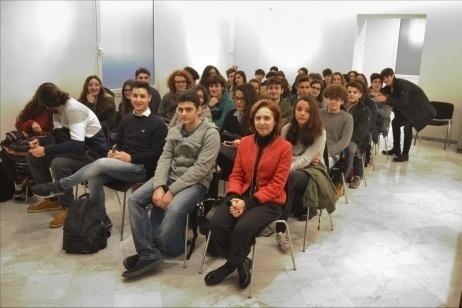 """Il liceo """"Rummo"""" di Benevento ospite all'Ambasciata cilena"""