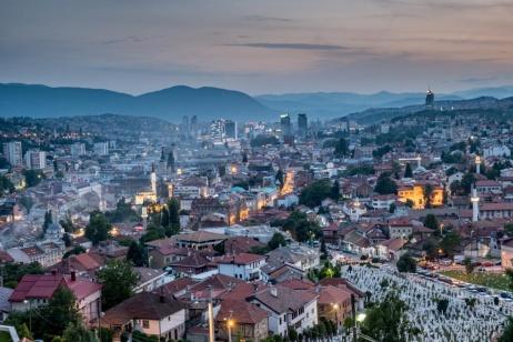 I bambini fotografi di Sarajevo