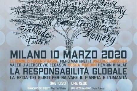 I Giusti per la responsabilità globale al Monte Stella