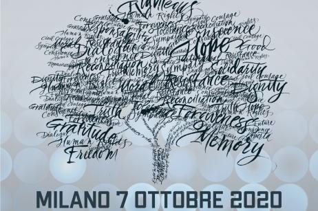 Cerimonia 2020 e concerto per i Giusti del Giardino Virtuale del Monte Stella