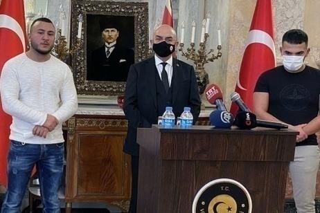Recep Tayyip Gültekin, Mikail Özen,  Osama Joda: tre giovani che hanno salvato delle vite a Vienna
