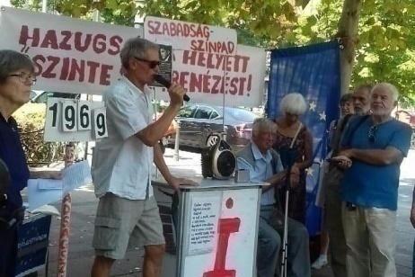 L'attivista ungherese Sebo Gábor riceve il premio Mária Ember 2021
