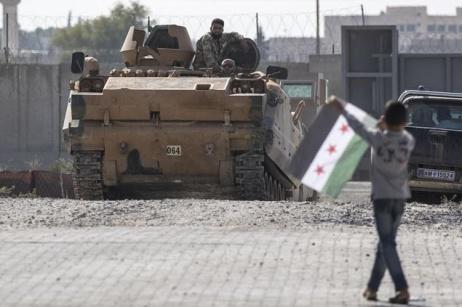 Le offensive turche nel Rojava dal 2016 al 2019
