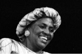 Morta oggi in Italia Miriam Makeba