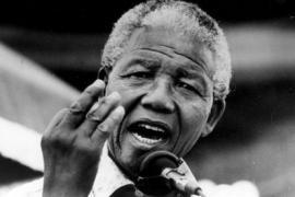 Mandela al Giardino dei Giusti di Milano