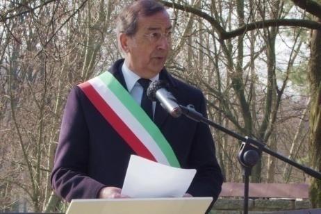 Il Sindaco di Milano Giuseppe Sala al Giardino di Milano